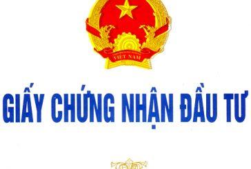 Thủ tục xin giấy phép đầu tư tại Đà Nẵng.