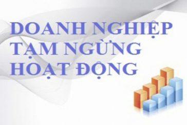 Thủ tục tạm ngừng hoạt động kinh doanh tại Đà Nẵng