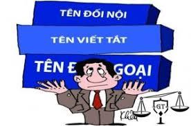 Hồ sơ thay đổi tên công ty tại Đà Nẵng