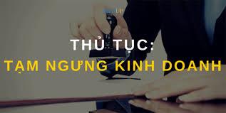 Thủ tục đăng ký tạm ngừng kinh doanh của doanh nghiệp tại Đà Nẵng