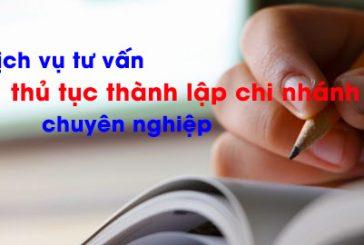 Thành lập chi nhánh công ty TNHH hai thành viên trở lên tại Đà Nẵng
