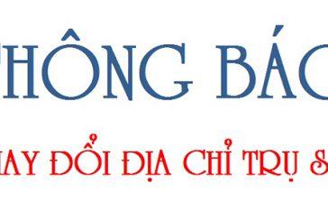 Thay đổi địa chỉ trụ sở chính công ty TNHH một thành viên tại Đà Nẵng