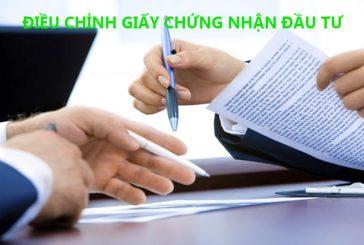 Thủ tục điều chỉnh giấy chứng nhận đầu tư tại Đà Nẵng